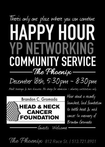 Happy Hour & Cocktail Reception at The Phoenix December 18th