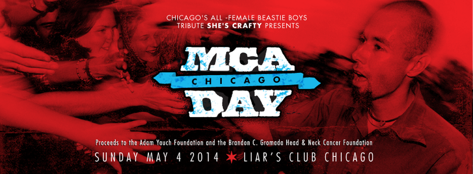MCA Day Chigago to benefit Brandon's Foundation!